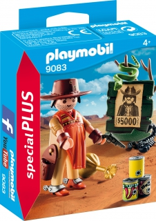 Playmobil Cowboy with Wanted Poster 9083