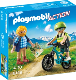 Playmobil Biker and Hiker 9129