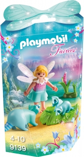 Playmobil Fairy Girl with Raccoons 9139