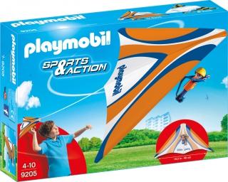 Playmobil Orange Hang Glider 9205