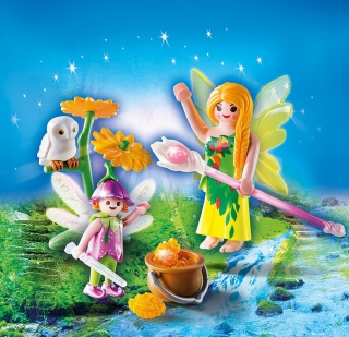 Playmobil Fairies with Magic Cauldron Egg 9208