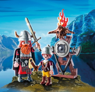 Playmobil Viking with Shield Egg 9209