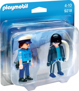 Playmobil Policeman and Burglar 9218