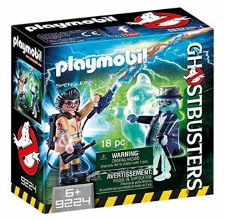 Playmobil Spengler and Ghost 9224
