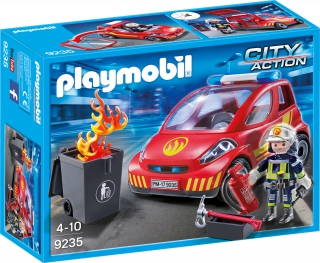 Playmobil Firefighter with Car 9235