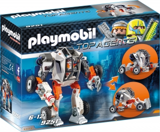 Playmobil Agent T. E. C.'s Robot 9251