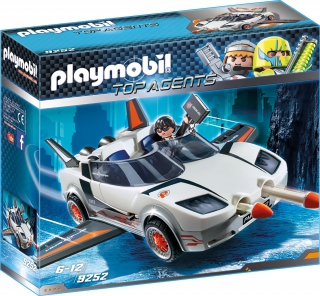 Playmobil Agent P. with Racer 9252