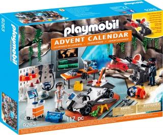 Playmobil Advent Calendar - Top Agents 9263