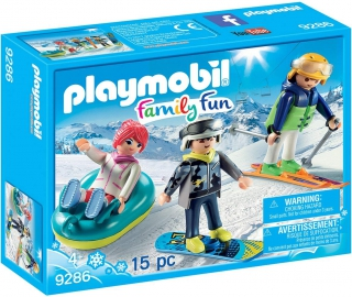 Playmobil Winter Sports Trio 9286
