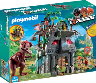 Playmobil Hidden Temple with T-Rex 9429