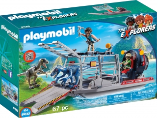 Playmobil Enemy Airboat with Raptor 9433