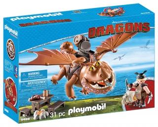 Playmobil Fishlegs and Meatlug 9460