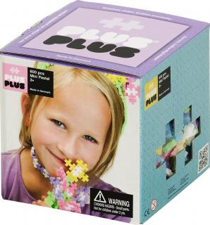 Plus-Plus Mini Pastel 600 pcs