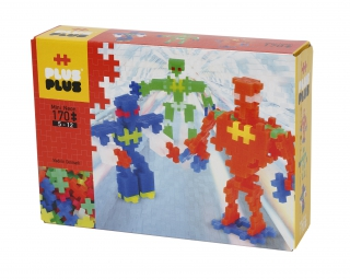 Plus-Plus Mini Neon 170 ROBOTS 3726