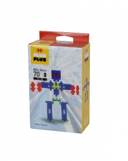 Plus-Plus Mini Neon 70 ROBOT 3753