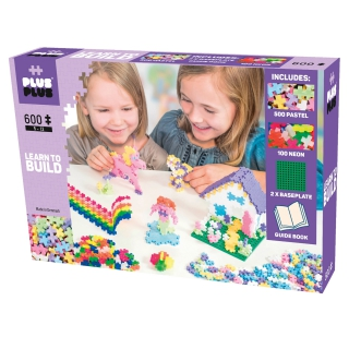 Plus-Plus Pastel 600 LEARN TO BUILD 5009