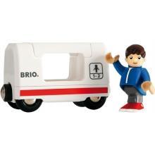 BRIO Travel Wagon and Boy - 33509