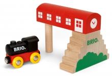 BRIO Classic Bridge Station 33615