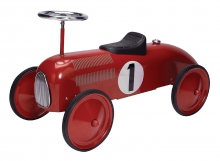 SCHYLLING Red Race Car Metal Speedster