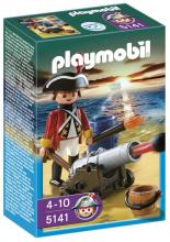 Playmobil Redcoat Guard with Cannon 5141