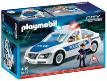 Playmobil Police Car with Flashing Lights 5184