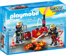 Firefighting Operation with Water Pump 5397