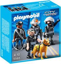Playmobil Tactical Unit Team 5565