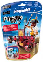 Playmobil Red Cannon & Buccaneer