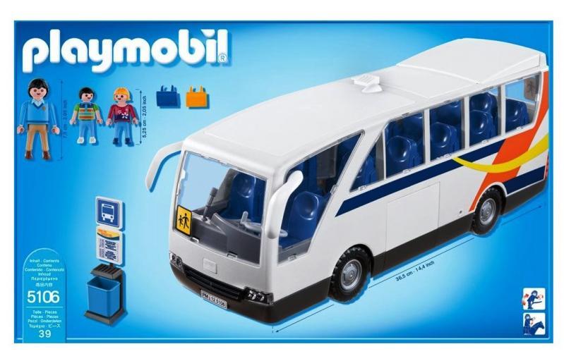 Playmobil City Coach Bus 5106 Table Mountain Toys
