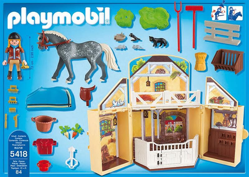 Playmobil My Secret Horse Stable Play Box 5418 Table