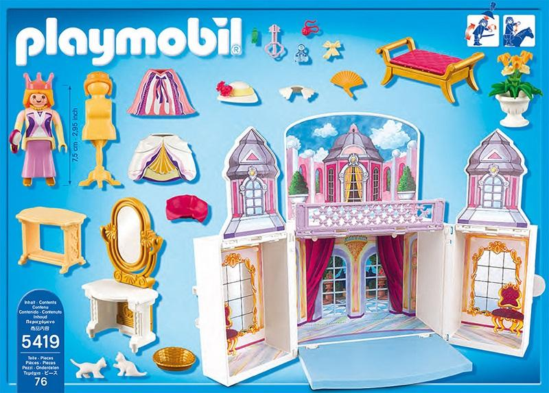 Playmobil My Secret Princess Castle Play Box 5419 Table