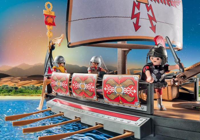 Roman Warriors Ship 5390 Table Mountain Toys