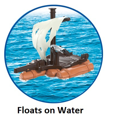 Playmobil Pirate S Raft 6682 Table Mountain Toys