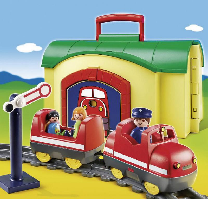 Playmobil my take along train 6783 table mountain toys - Train playmobil ...