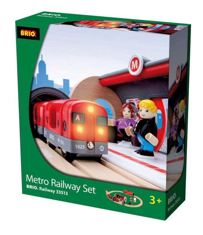 Brio Metro Railway Set 33513 Table Mountain Toys