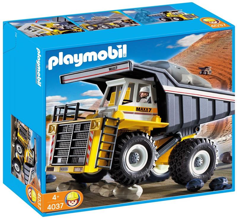 Playmobil Heavy Duty Dump Truck 4037 | Table Mountain Toys