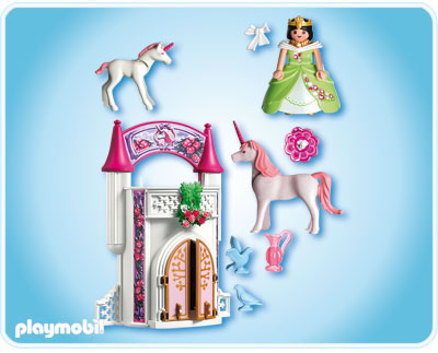 playmobil unicorn take along castle 4777 table mountain toys