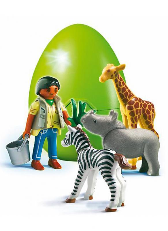 Playmobil Zoo Keeper Surprise Egg 4931 Table Mountain Toys