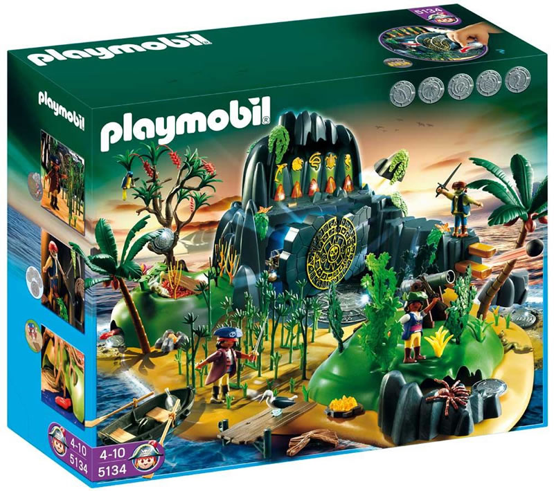 Playmobil Pirate Adventure Treasure Island 5134 | Table