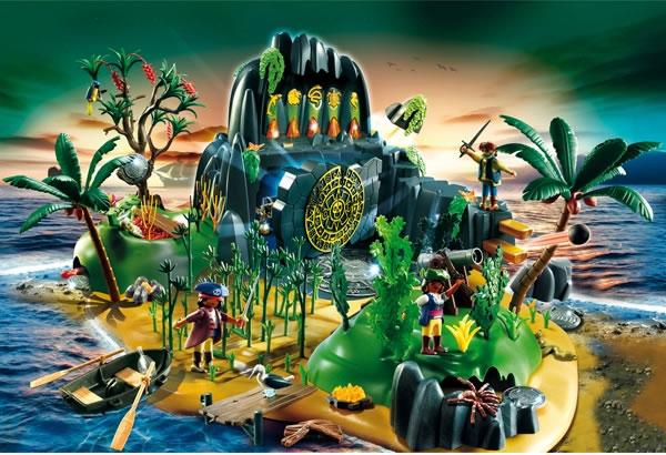 Playmobil Pirate Adventure Treasure Island 5134 Table