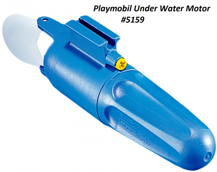 Playmobil Underwater Motor 5159 Table Mountain Toys