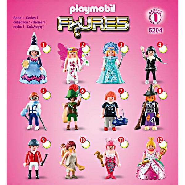 Playmobil Figures Girls Series 1 Pink 5204 Table