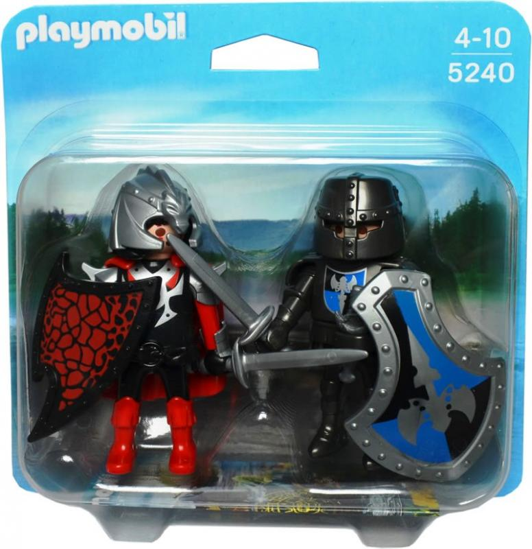 Playmobil Duo Pack Knights Duel 5240 Table Mountain Toys