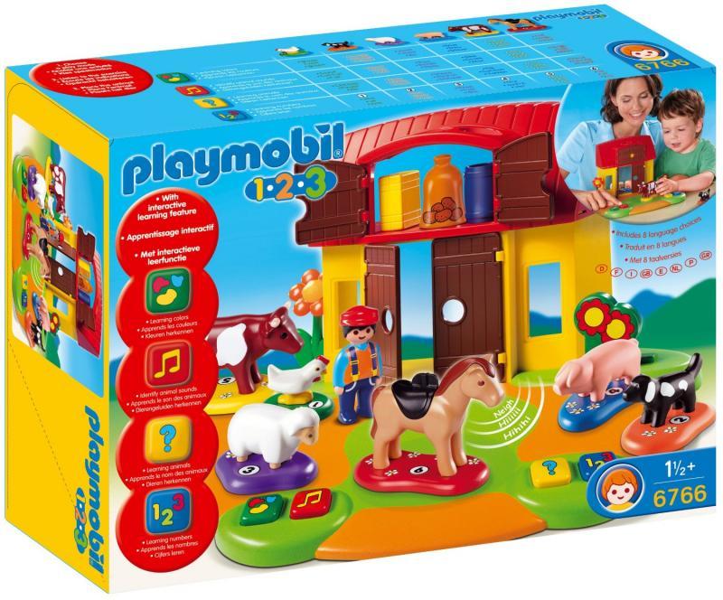 Playmobil interactive play and learn farm 6766 table - Table de jeu playmobil ...