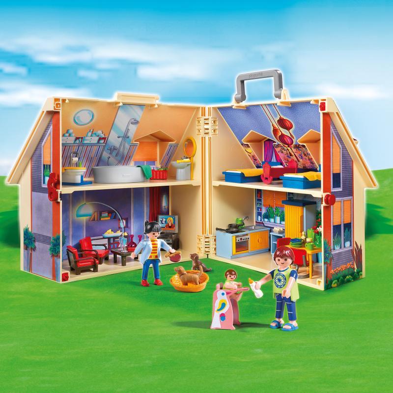 Table Playmobil Of Playmobil Take Along Modern Doll House 5167 Table