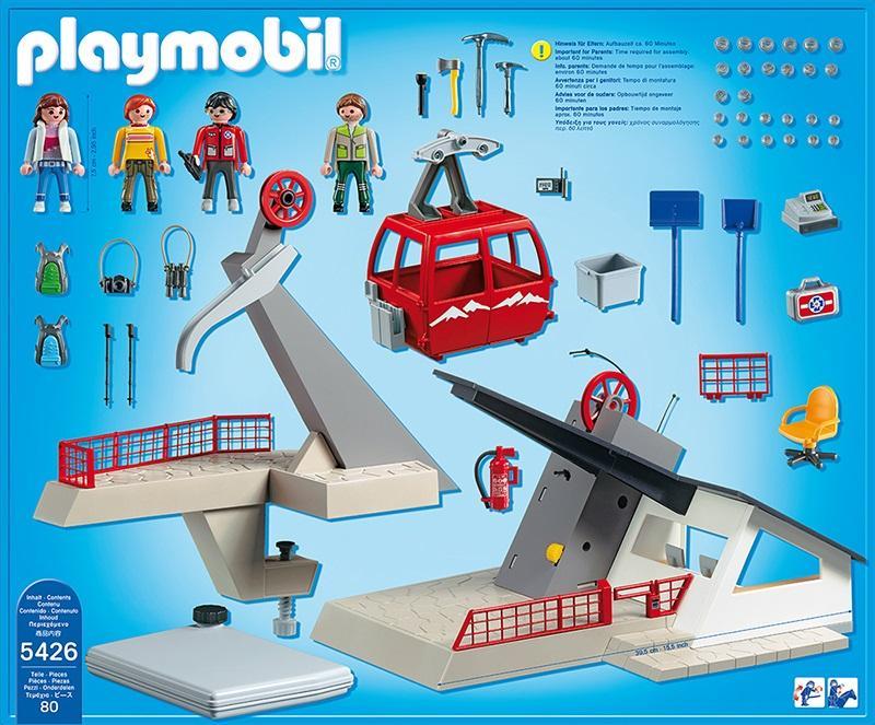 Playmobil Alpine Cable Car 5426 Table Mountain Toys