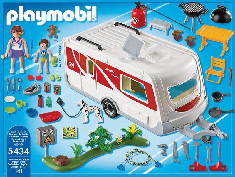 Playmobil Family Caravan 5434 Table Mountain Toys
