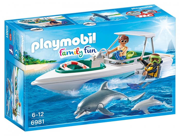 Playmobil Diving Trip with Speedboat 6981