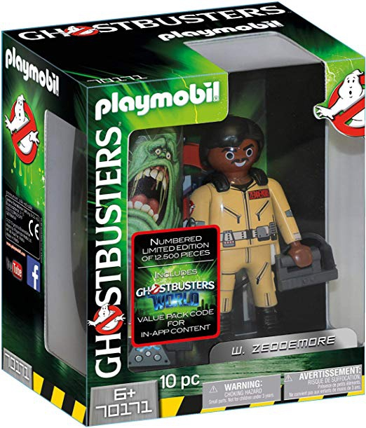 Playmobil Ghostbusters Collector's Edition W. Zeddemore 70171