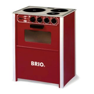 BRIO Pretend Play Stove red - 31355
